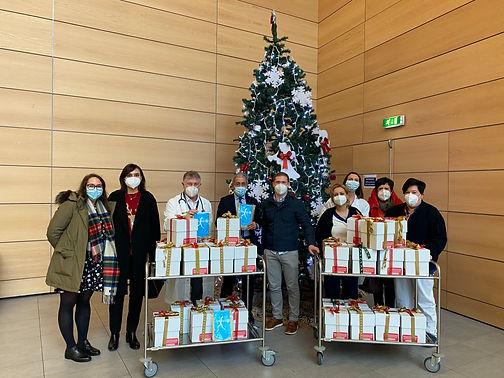 Il Rotaract Club Como al Sant'Anna per l'iniziativa del Teddy Bear Hospital