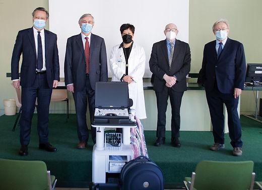 Dalla Bcc donato un ecografo portatile alla Radiologia del Sant'Antonio Abate
