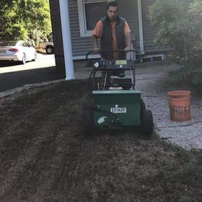 New lawn installation again...