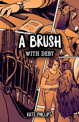 A brush with debt comic