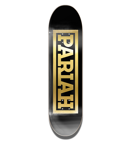 PARIAH - 'Team Stamp' Deck 8.125