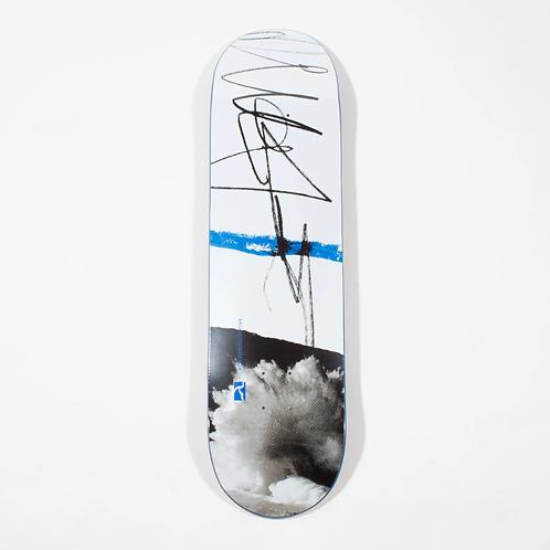 """Poetic Collective Sketch Cloudy Deck - 8.5"""""""