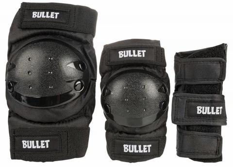 Bullet Bullet Deluxe Combo Junior Skateboard Pad Set