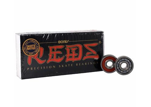 Bones Reds Bearings - 8mm (Pack of 8)
