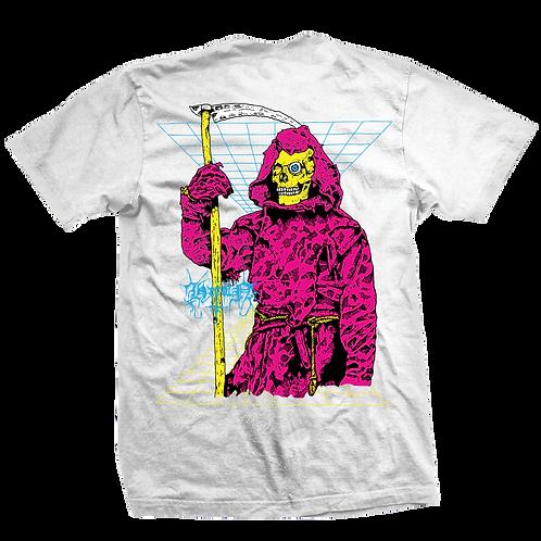 Heroin Skateboards Reaper Grey T-shirt