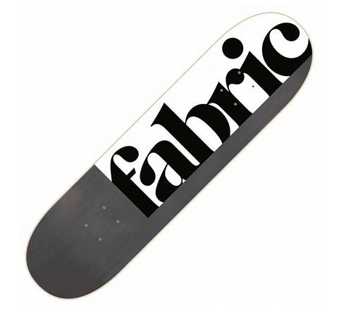 """Fabric Skateboard  8.25"""""""