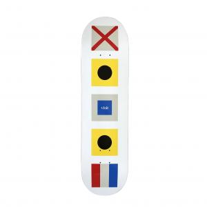 "Visit Skateboard Nautical  8"""