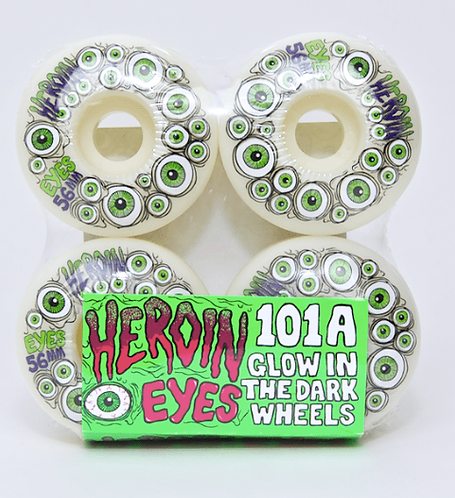 Heroin Skateboards Wheels 56MM