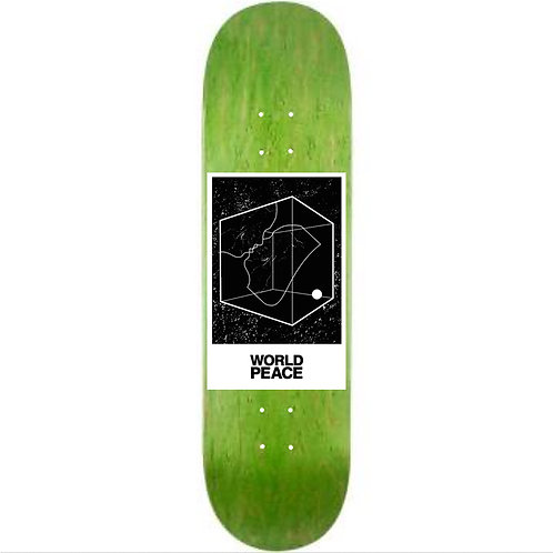 "World Peace Living Cube Skateboard 8.0"""