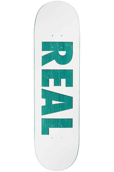 """Real Deck Bold Series White 8.5"""""""