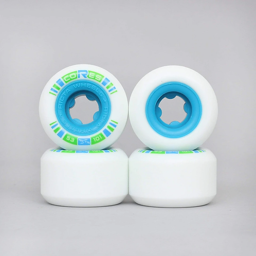 Ricta Wheels Cores Neon Blue 53MM