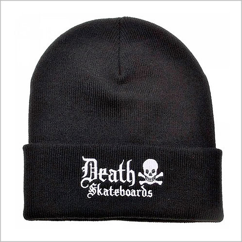 Death Skateboards Old English Beanie
