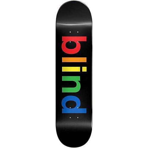 """Blind Blind Spectrum Skateboard Deck - Black 8.25"""""""