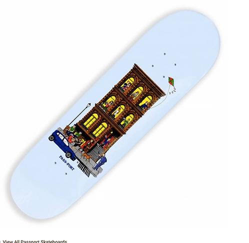"Passport Skateboards 8.25"""