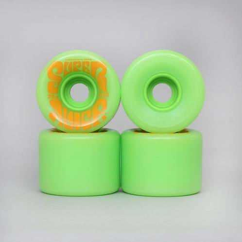 OJ Soft Wheels Green 60MM
