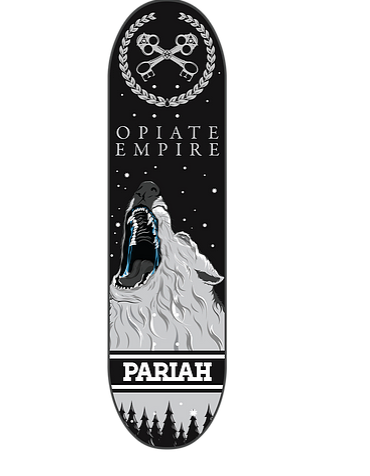 PARIAH 'Opiate Empire' Deck 8.375