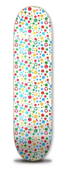 "The Heart Supply Polka Heart Deck 8.25"""
