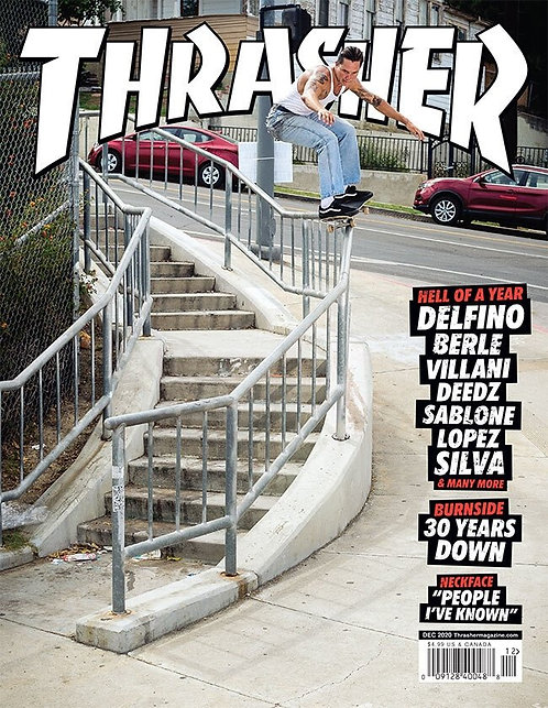 Thrasher Magazine December 2020 #485