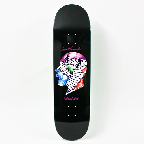 Krooked Mark Gonzales Stairs Deck 8.5""