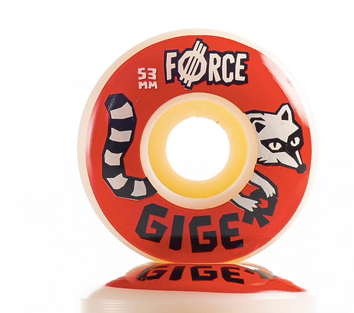 Force Jonny Giger Raccoon Wheels  - 53mm