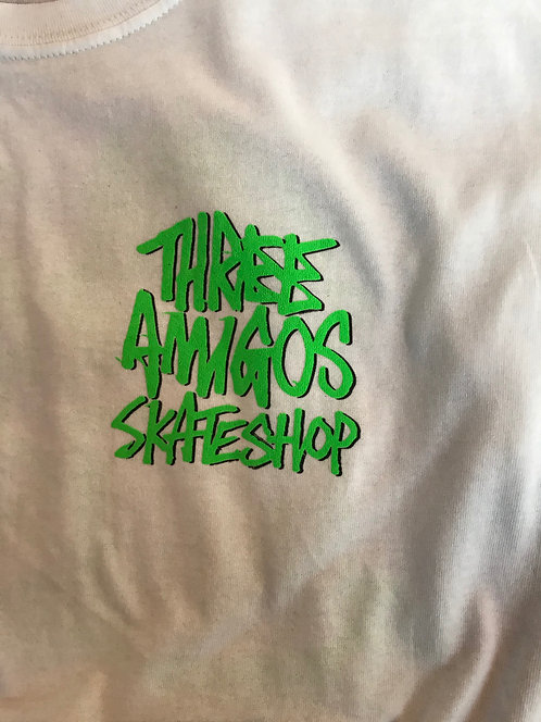 Fos X Three Amigos Shop White  T-shirts