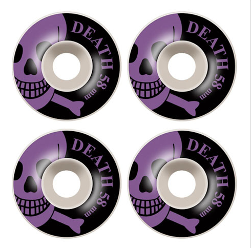 Death Skull 58mm Wheels