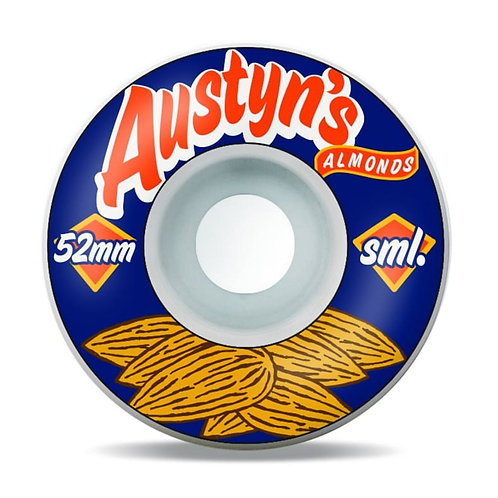SML Austyn's Almonds OG Wide Wheels 52mm