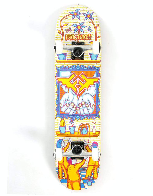"""Fracture x Adswarm Complete Skateboard - 7.75"""""""