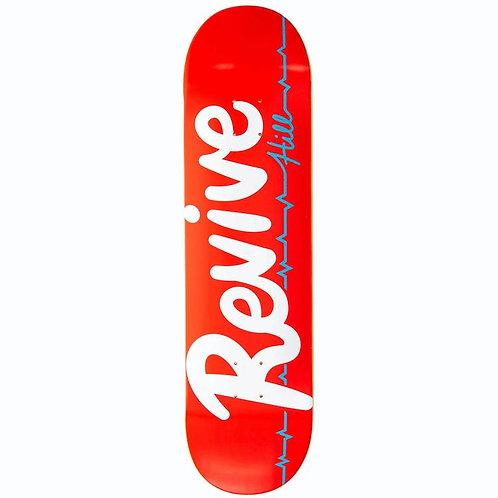 "ReVive Hill Pro Script Skateboard Deck 8.25"""