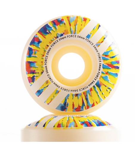 Tie Dye Slash Wheels 54mm