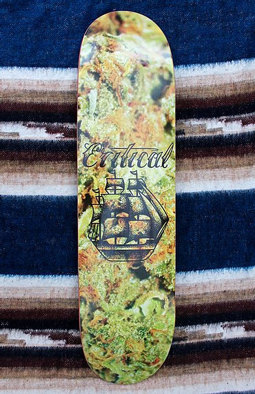 Critical Skateboards 8.125""