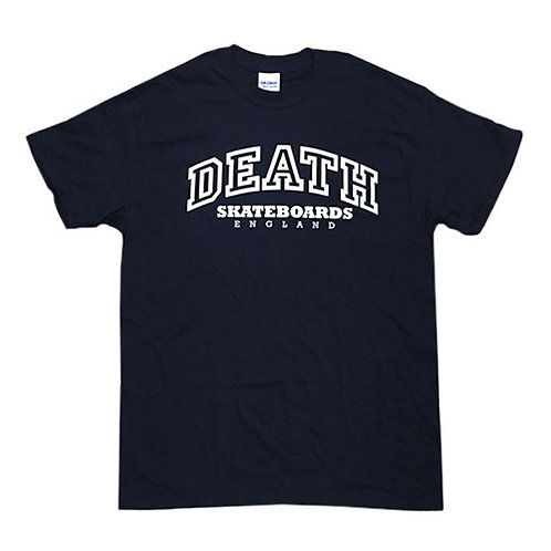 Death Skateboards College Tee