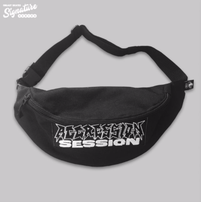 JAKE SNELLING - AGGRESSION SESSION SHOULDER BAG