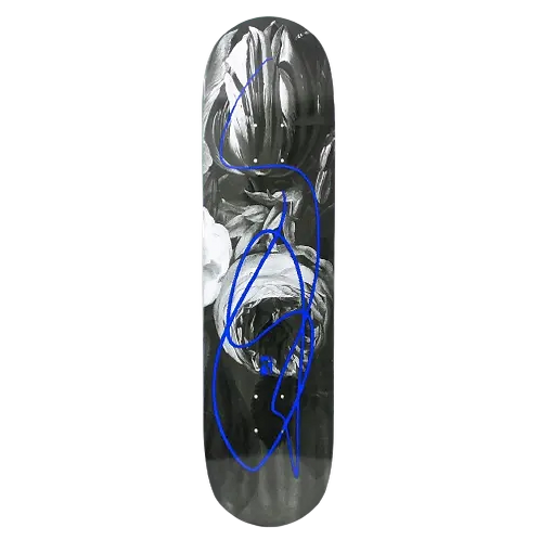 """Poetic Collective - Poetic Collective Flower Doodle Skateboard 8"""""""