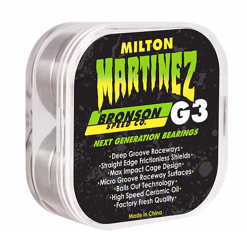 Bronson Bearings Milton Martinez