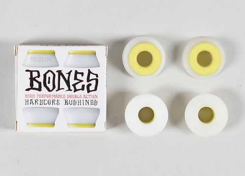 Bones Bushings Medium Yellow White
