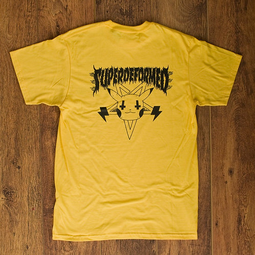 Baphomon Yellow T-shirt