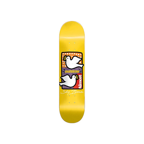 """Almost Skateistan Double Doves Deck 8"""""""