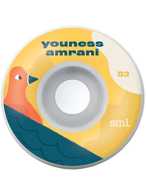 SML TOONIES YOUNESS AMRANI 99A 52MM WHEELS