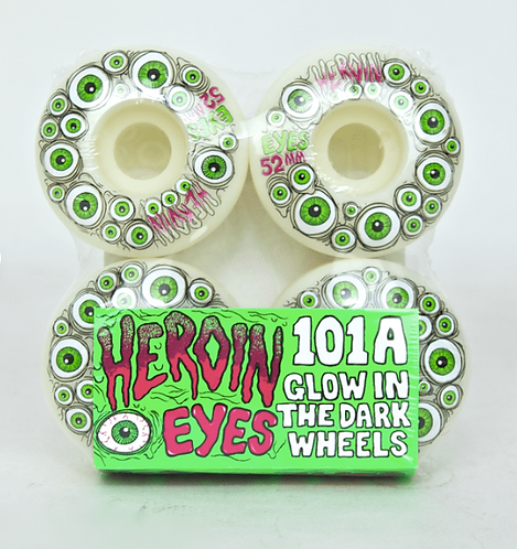 Heroin Skateboards Wheels 52MM