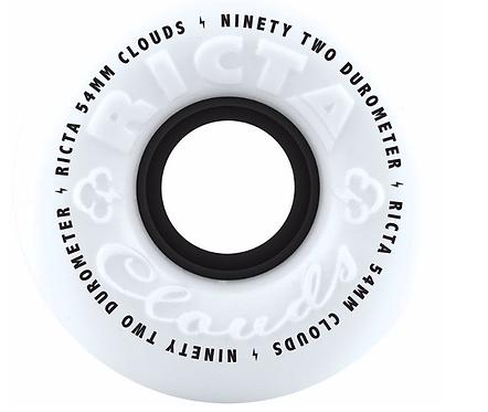 Ricta Clouds 92a Skateboard Wheels 54 & 56mm