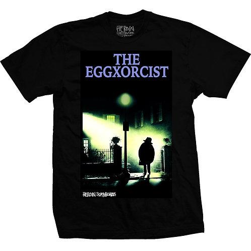 Heroin Skateboards Eggxorcist T Shirt