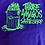 Thumbnail: Fos X Three Amigos T Shirg Purple With Fluoro Green  Print