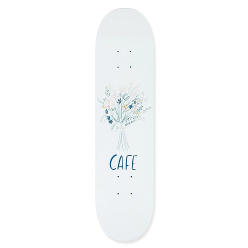 "Skateboard Cafe Bouquet White 8"""