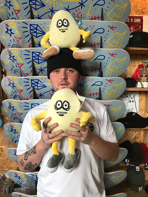Heroin Skateboards 'The Egg' Plush Toy