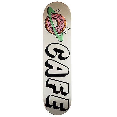 Skateboard Cafe Planet Donut Deck White 8.25