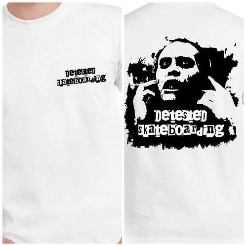 Detested Skateboard Bub White T-shirt