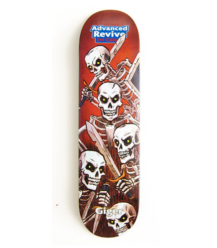 Revive Giger Skeleton Deck 8.5""