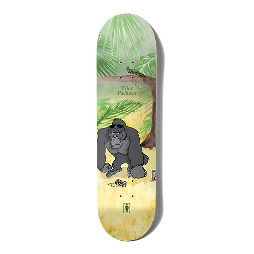 """Girl Deck Jungle Beers One Off W40 Tyler Pacheco 8.375"""""""