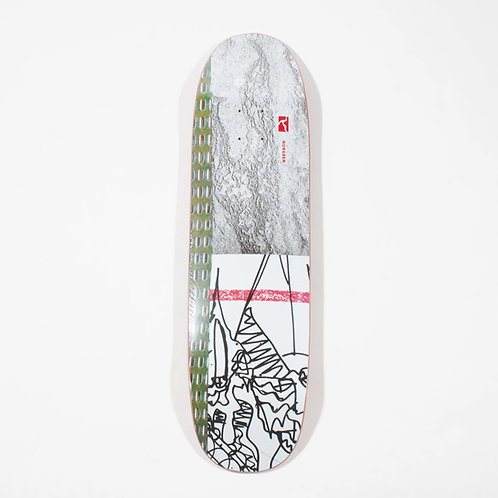 Poetic Collective Norgren Special Shape Deck - 8.5""